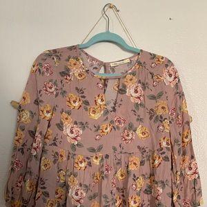 Tops - Babydoll blouse
